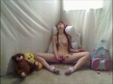 Solo Orgasm with Dolly Little