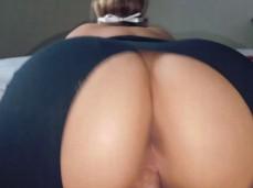 Got a bad ass bitch bouncing on that dick