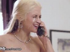 Sarah Vandella with cum on her face cpg