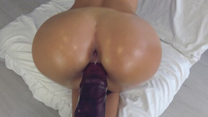 Horse cock in pussy